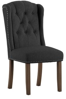 Alcott Hill Deja Wing Back Upholstered Dining Chair Alcott Hill