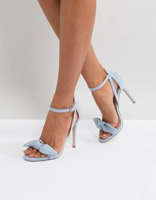 Miss KG Bow Front Heeled Sandal