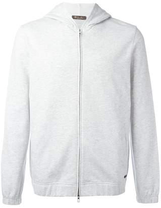 Loro Piana zipped hoodie