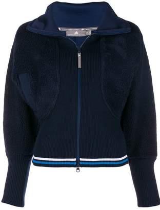adidas by Stella McCartney ribbed teddy track jacket