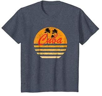 Cuba Vintage Retro T-Shirt 70s Throwback Surf T