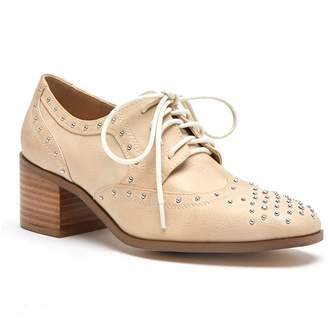 Matisse Fleur Faux Leather Heeled Oxford
