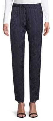 Dries Van Noten Geometric Stretch Pants
