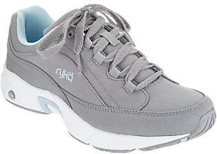 Ryka Canvas Lace-Up Walking Sneakers - Catalyst
