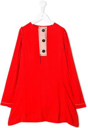 Marni raw edge dress