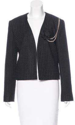 Lanvin Embellished Tweed Jacket w/ Tags
