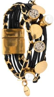 Camila Klein elasticated magnet bracelet