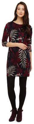 Phase Eight Multicoloured Pollie Palm Jacquard Tunic Dress