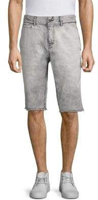 PRPS Faded Twill Denim Shorts