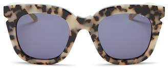 Pared Eyewear Pools & Palms Oversized Cat Eye Sunglasses, 50mm