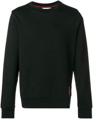 CK Calvin Klein logo badge sweatshirt