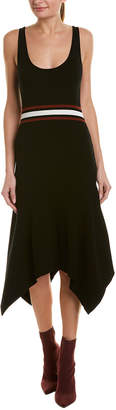 A.L.C. Asymmetric A-Line Dress