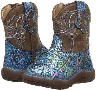 Roper Glitter Aztec Cowboy Boots