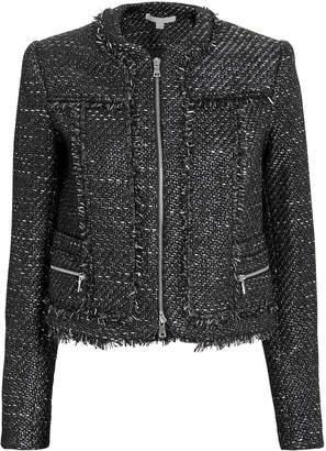 Jonathan Simkhai Sparkle Boucle Cropped Jacket