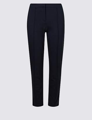Marks and Spencer Slim Leg Flat Front Trousers