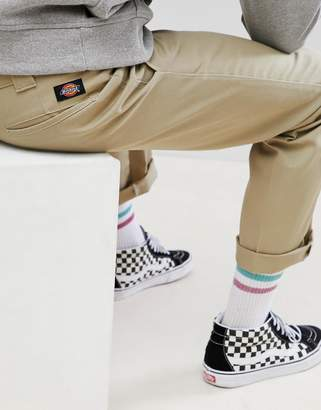 Dickies 873 Work Pant Chino In Straight Fit In Khaki