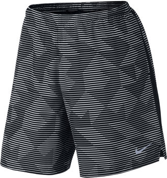 """Nike Men's 7"""" Dry Printed Running Shorts $40 thestylecure.com"""