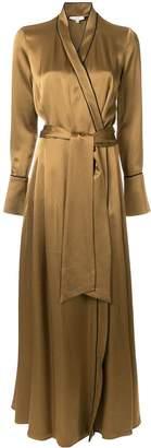 LAYEUR wrapped kimono dress