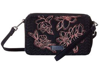 Vera Bradley Iconic RFID All-In-One Crossbody Cross Body Handbags