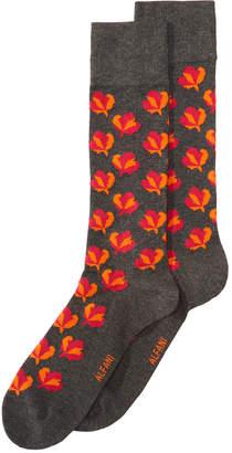 Alfani AlfaTech by Men's Maple-Leaf Socks