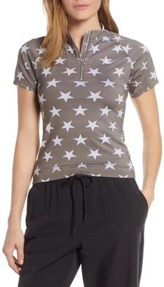 Nike Collection Women's Quarter Zip Top