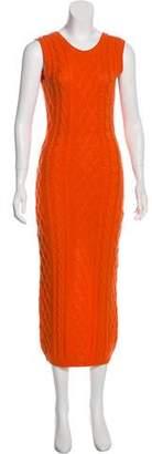 Versus Vintage Wool Midi Dress
