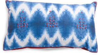 Made In India 14x24 Shibori Pillow