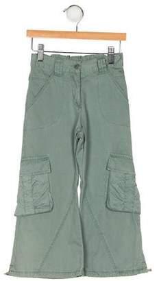 Catimini Girls' Four Pockets Wide-Leg Pants
