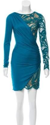 Emilio Pucci Asymmetrical Lace Dress