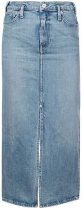 Proenza Schouler PSWL Straight Denim Skirt