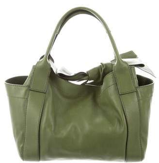 Valentino Bow Leather Tote