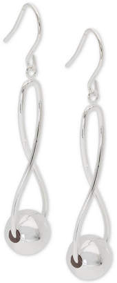 Giani Bernini Infinity Ball Drop Earrings in Sterling Silver, Created for Macy's