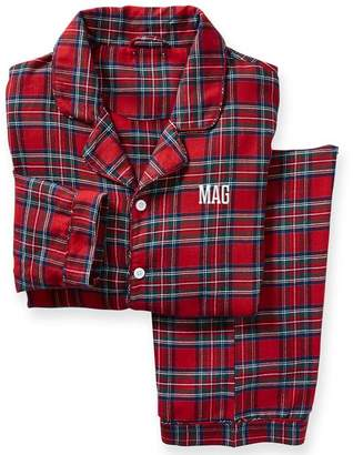 Mark And Graham Adult Tartan PJs