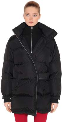 Prada Oversized Nylon Down Jacket