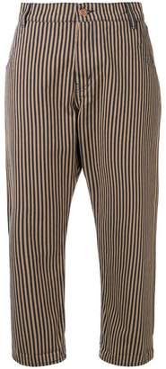 YMC Geanie striped jeans