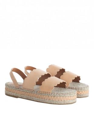 Zimmermann Scallop Espadrille Sandal