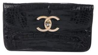 Chanel Crocodile CC Clutch