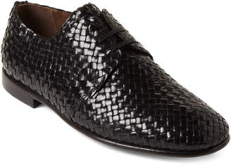 Dolce & Gabbana Woven Leather Derby Shoes