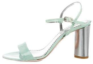 Marc Jacobs Patent Leather Sandals