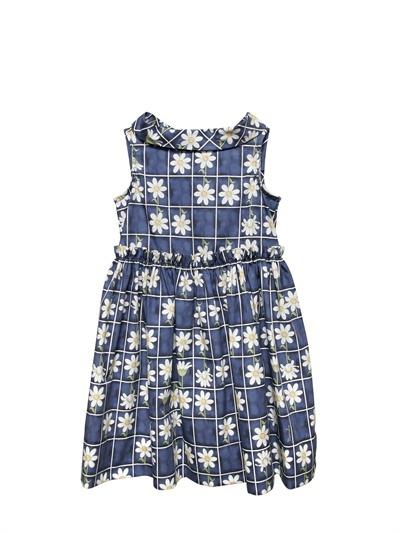 MonnaLisa Daisy Sateen Dress