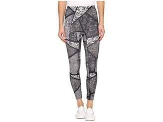 Hue Geo Animal Active Shaping Skimmer Women's Casual Pants