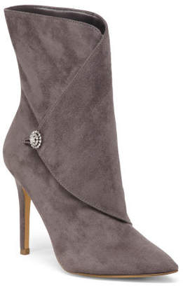 Pointy Toe Stiletto Heel Ankle Booties