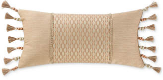 "Waterford Margot Persimmon 11"" X 22"" Breakfast Decorative Pillow"