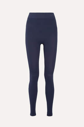 Falke Ergonomic Sport System - Stretch-knit Leggings - Navy
