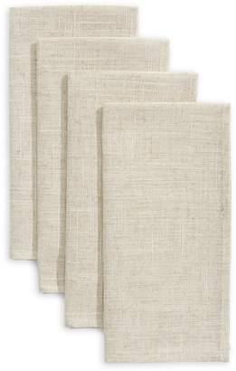 Mera 4-Piece Textured Table Napkin Set