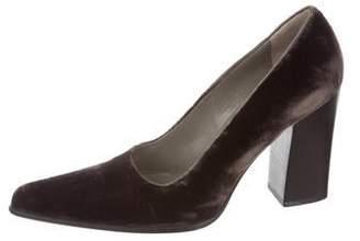 45b1019b50a51 Prada Pointed Toe Pumps - ShopStyle