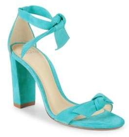 Alexandre Birman Clarita Self-Tie Leather Sandals