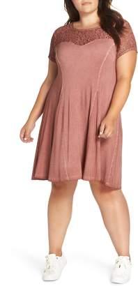 Dantelle Sweetheart Lace Yoke Dress