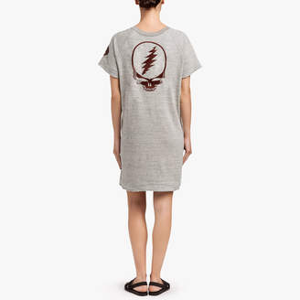 James Perse GRATEFUL DEAD ROSE T-SHIRT DRESS