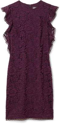 Vince Camuto Lace Flutter-sleeve Sheath